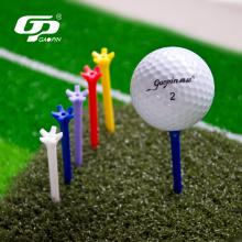 Langlebige mehrfarbige Golf-T-Shirts aus Kunststoff mit 5 Zinken