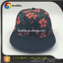 Дизайн вашей собственной шляпы Snapback / Оптовая Дешевые Snapback Cap / Рекламные печати патч Snapback