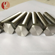 hot sale DIN standard gr5 M6 M8 titanium bolts and screws