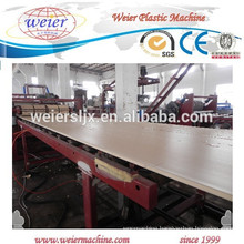350kg output of PVC WPC foamed furniture board line