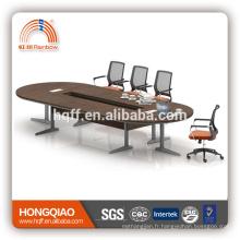 (MFC) HT-25-43 cadre moderne d'acier inoxydable de table de conférence pour des tables de conférence de 4.3M à vendre