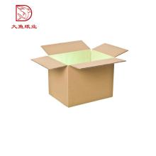 Venda quente caixa de embalagem marrom do retângulo ondulado para peças de automóvel