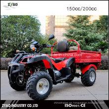 150cc / 200cc refrigerado de la cadena de la unidad CVT Farm Cargo ATV