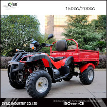 150cc / 200cc Corrente de Corrente Refrigerada CVT Farm Cargo ATV