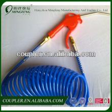 Excellent matériel Bleu PU tuyau de bobine air soufflette