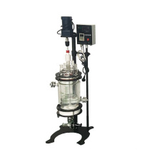China Hot Sele 1L 10L 50L 100L Chemical Process Lab Glass Jacketed Double  Wall with filtration system Reactor