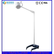 Tipo de Emergencia de LED Movable lámpara médica quirúrgica lámparas de funcionamiento