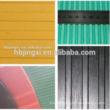 Colorful Ribbed Anti-slip Rubber Floor Sheet