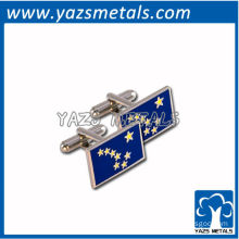 customized cufflinks, custom Alaska accessories cufflink tie clips