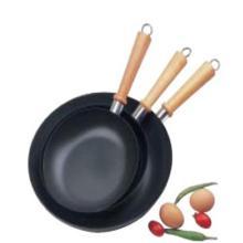 Non-stick carbon steel fry pan sets