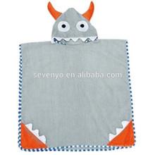 Jungen oder Mädchen Hooded Badetuch 100% Baumwolle verwenden für Bad, Cartoon Hooded Badetuch Baumwolle Terry Kleinkind Kind Tier Bademantel