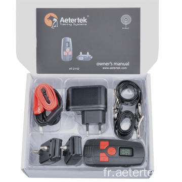 Aetertek AT-211D 300M collier d'arrêt à l'écorce de citronnelle