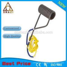 Elemento calentador de bobina eléctrica