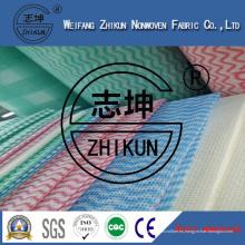 22mesh y 37mesh tela no tejida de Spunlace para la cocina limpia