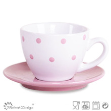 3oz Ceramic Cup and Saucer