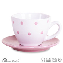 3oz Ceramic Cup and Saucer