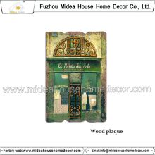 China Home Decor Wholesale Wood Plaques