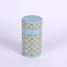 Boîte de papier d'emballage polygonale pour le thé