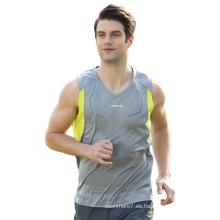 Camisetas deportivas personalizadas sin mangas Fitness Fitness Dry Fit