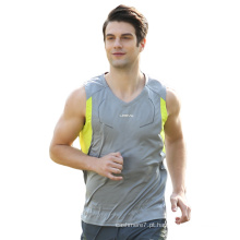 Homens personalizados Sport Tank Tops Fitness Dry Fit Vest