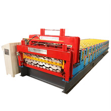 Machine de formage de rouleaux ibr double couches sur mesure