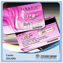 Подгонянное печатание карточки IC контактных Смарт-IC чип карты