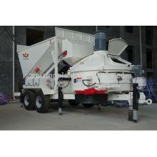 10m3 / h mini móvel misturador de concreto pré-misturado para venda