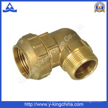 Male Thread Brass Elbow Compression /Spanish Pipe Fitting (YD-6044)