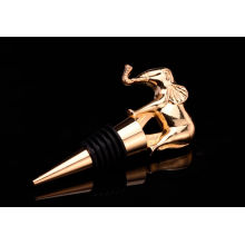 Elephant Shape Design Wine Bottle Stopper (GZHY-BS-026)