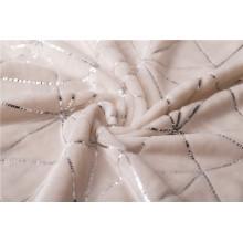 Doppelseitiges Flanell-Fleece-Gewebe für Decke Baby