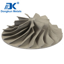 Alloy Aluminum impeller with Lost Wax Casting