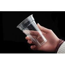 Wholelsale Tasse jetable en plastique avec couvercles