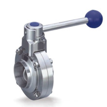 worm gear turbine drive electric butterfly valve