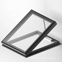 AS 2047 Hurricane Impact Aluminium Tempered Glass Awning Roof Windows Electric Skylight Window