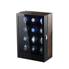 Tweleve Rotors Watch Winder With LED Light