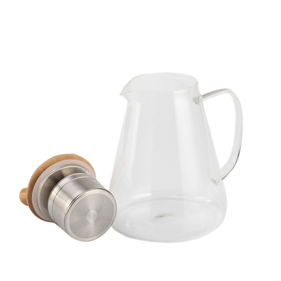 High Quality Glass Tea Pot