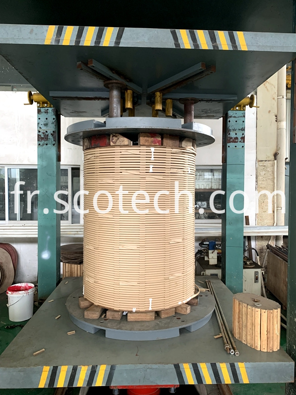 coils of 50mva power transformer