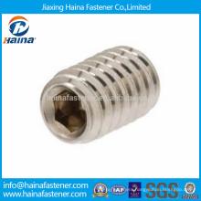 Stainless steel hex head socket allen set screw