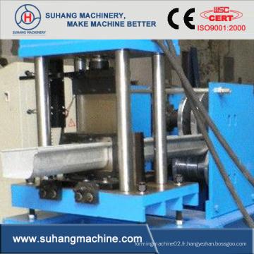 Machine à former des rouleaux d'ébullis en aluminium