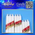 Haus Kerze für Beleuchtung weiße Kerze