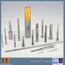 Goupilles standard de poinçon de carbure de précision avec le revêtement de ticn pour le moule