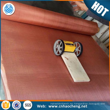 tela de malla de alambre de cobre de protección electromagnética de protección EMF