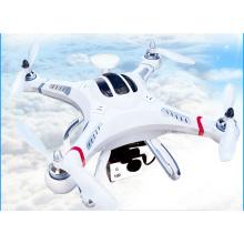 Drone quadricoptère à retour d'une clé GPS Cx20 avec caméra Fpv