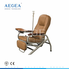 AG-AC006 Powder coated steel PVC luxury infusion folding chair bed