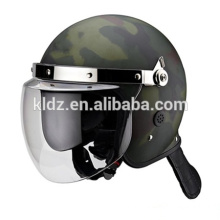 Riot helmet with mask holder Camo colour