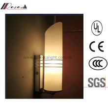 Factory Price Bedside Opal White Glass Wall Lamp