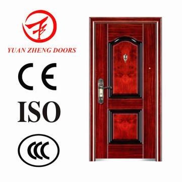 Außenlage und Sicherheitstyp Stahltür