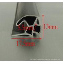 Tiras de vedação de borracha de janela de porta de extrusão de PVC