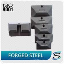 Gancho de elevación de la precisión certificada CE ISO9001 para la parte de la carretilla elevadora