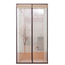 NX040  soft yarn anti-mosquito curtain magnetic mosquito net for door